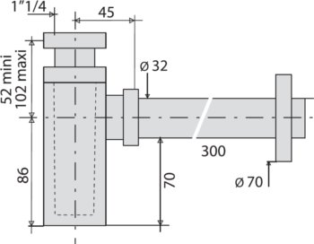 schéma dimensionnel VAL-157700